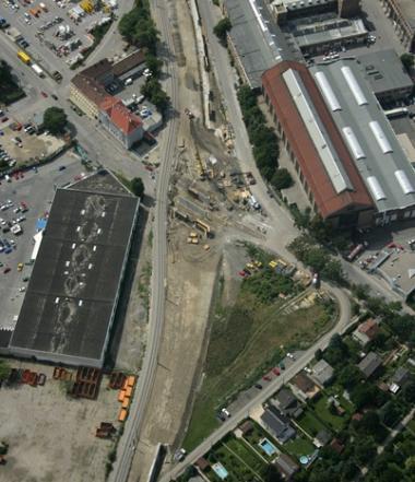 Luftbild Bahnhof Stadlau