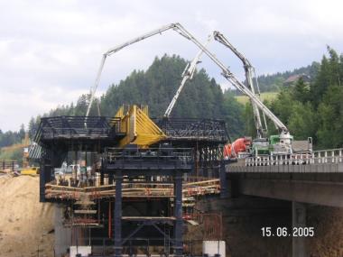 P25, 1. Betonierabschnitt Tragwerk