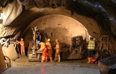 Tunnelvortrieb