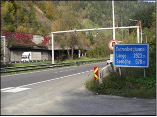 Generalsanierung Tunnel Tanzenberg