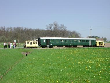 Streckenbefahrung am 28.04.2004